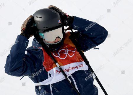 Editorial image of Freestyle Skiing - PyeongChang 2018 Olympic Games, Bongpyeong-Myeon, Korea - 19 Feb 2018