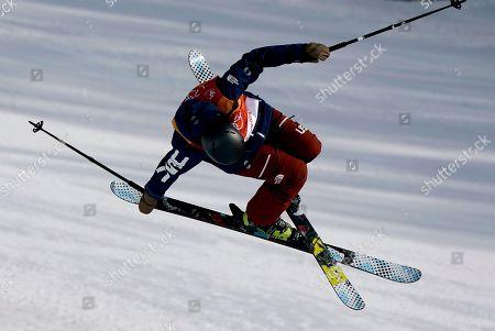 Editorial picture of Freestyle Skiing - PyeongChang 2018 Olympic Games, Bongpyeong-Myeon, Korea - 19 Feb 2018