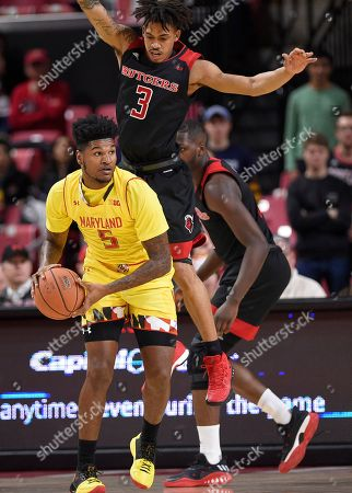 Editorial picture of Rutgers Maryland Basketball, College Park, USA - 17 Feb 2018