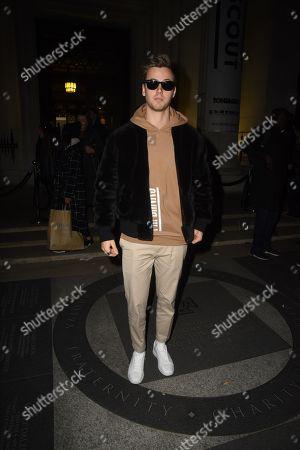 Editorial photo of Rocky Star show, Fall Winter 2018, London Fashion Week, UK - 18 Feb 2018
