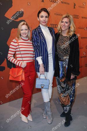Jennifer Ulrich, Nadine Warmuth and Nele Kiper