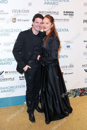 Doreen Dietel with partner Tobias Guttenberg