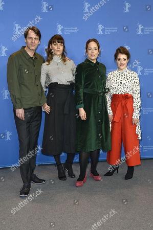 Stock Photo of Dominik Warta, Katharina Mueckstein, Sophie Stockinger, Kathrin