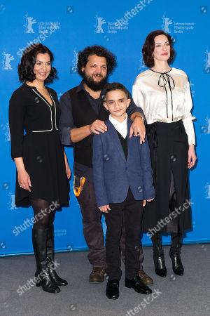 Lidia Danis, Milan Csordas, Arpad Bogdan und Anna Marie Cseh