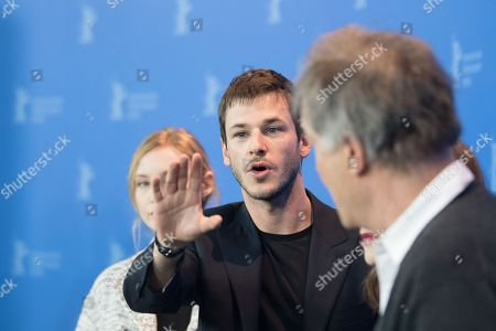 Isabelle Huppert, Gaspard Ulliel, Benoit Jacquot and Julia Roy