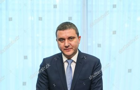 Bulgaria's Finance Minister Vladislav Goranov during a macroeconomic dialogue on the sidelines of the Economic and Financial Affairs Council (ECOFIN) at the European Council, in Brussels, Belgium, 19 February 2018.