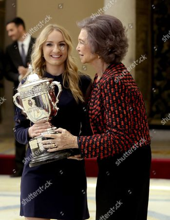 Editorial image of Spanish Royals present 2017 National Sports Awards, Madrid, Spain - 19 Feb 2018