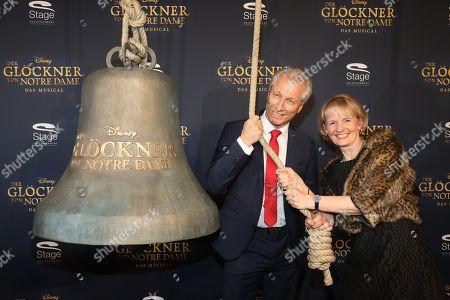"""Editorial image of """"Der Glöckner von Notre Dame"""" musical premiere, Stuttgart, Germany - 18 Feb 2018"""