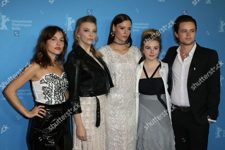 Lola Bessis, Natalie Dormer, Lily Sullivan, Ruby Rees Wemyss and Harrison Gilbertson