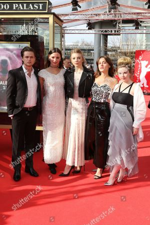Harrison Gilbertson, Lily Sullivan, Natalie Dormer, Lola Bessis and Ruby Rees Wemyss