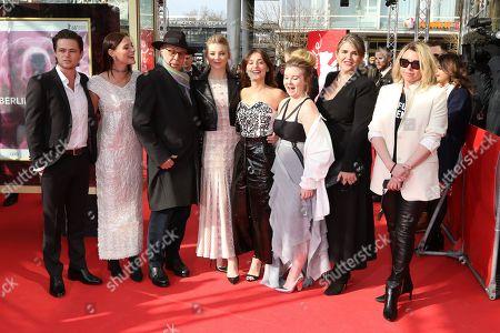 Harrison Gilbertson, Lily Sullivan, Dieter Kosslick, Natalie Dormer, Lola Bessis, Ruby Rees Wemyss, Jo Porter and Larysa Kondracki