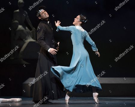 Editorial image of 'The Winter's Tale' Ballet Choreographed by Christopher Wheeldon performed by the Royal Ballet at the Royal Opera House, London, UK, 09 Feb 2018