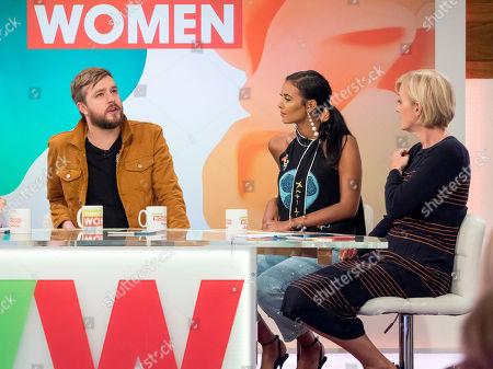 Iain Stirling, Maya Jama and Jane Moore