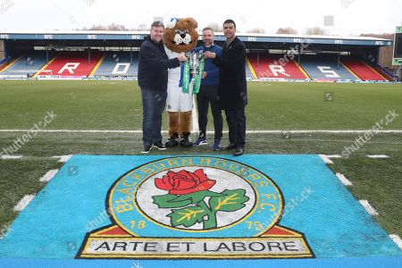 Editorial picture of Carabao Cup Trophy Relay, Ewood Park, Blackburn, UK, 19 February 2018