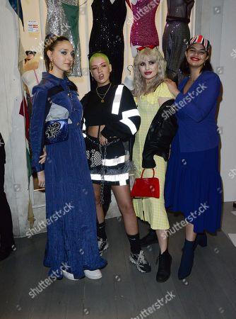 Lola Parnell, Betsey Johnson, Emma Breschi