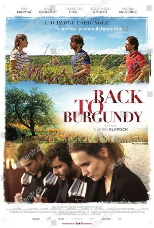 Back to Burgundy (2017) Poster Art. Ana Girardot, Pio Marmai, Francois Civil