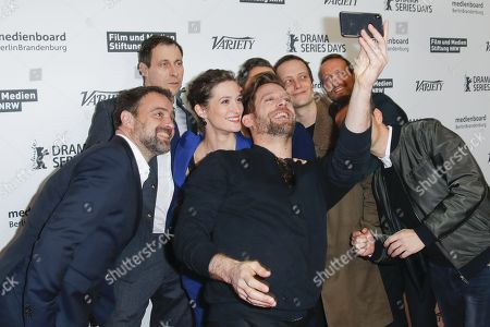 Editorial image of Photocall of Parfum at the 68th International Film Festival Berlinale, Berlin, Germany - 19 Feb 2018