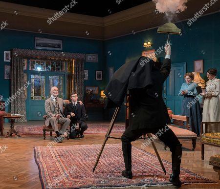 Aden Gillett as Arthur Winslow, Misha Butler as Ronnie, Tessa Peake-Jones, Sarah Lambie as Miss Barnes