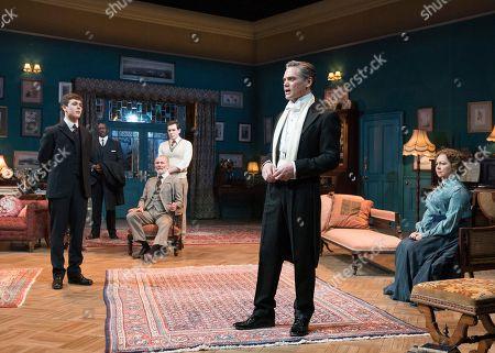 Misha Butler as Ronnie, Aden Gillett as Arthur Winslow, Theo Bamber as Dickie, Timothy Watson as Sir Robert Morton, Tessa Peake-Jones,
