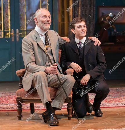 Aden Gillett as Arthur, Misha Butler as Ronnie