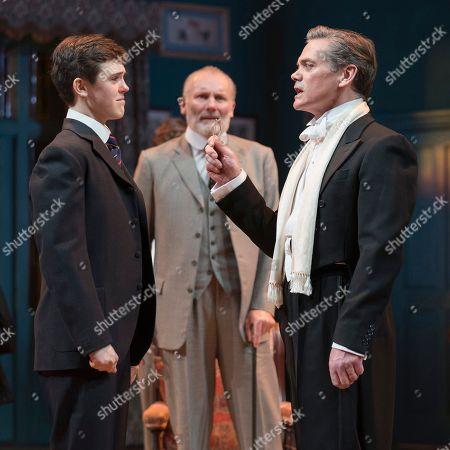 Stock Image of Misha Butler as Ronnie, Aden Gillett as Arthur, Timothy Watson as Sir Robert Morton