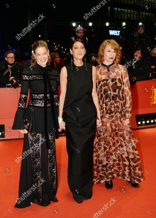 Marie Baeumer, Emily Atef and Birgit Minichmayr