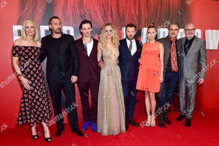 Editorial image of Red Sparrow European Film Premiere, London, UK - 19 Feb 2018
