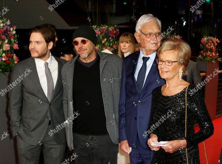 Daniel Bruhl, Jose Padilha, Jacques Lemoine and wife