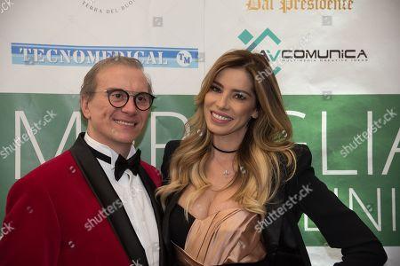 Aida Yespica and Silvio Smeraglia