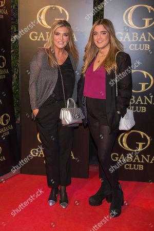 Susana Uribarri and her daughter