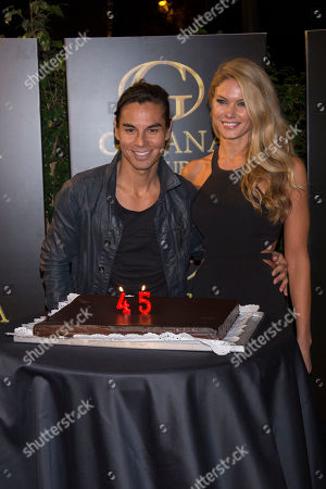 Stock Image of Julio Iglesias Jr and Charisse