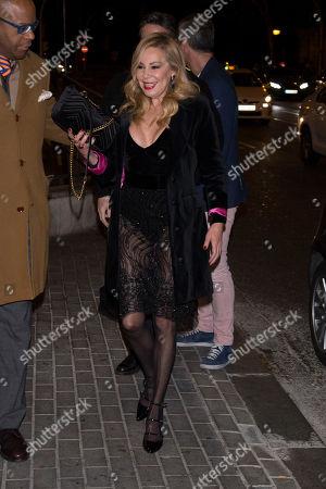 Editorial photo of Julio Iglesias Jr 45th birthday party, Madrid, Spain - 19 Feb 2018
