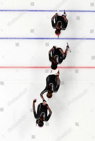 Editorial photo of Pyeongchang Olympics Speed Skating Women, Gangneung, South Korea - 20 Feb 2018
