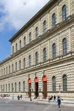 Koenigsbau, Munich Residence, Max-Joseph-Platz, Munich, Upper Bavaria, Bavaria, Germany
