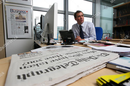 Will Lewis, Editor of the Daily Telgraph