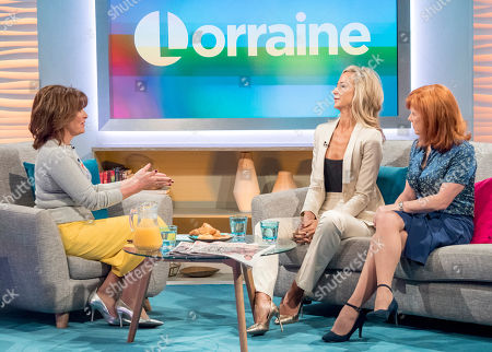 Lorraine Kelly, Lady Victoria Hervey and Dr Sarah Jarvis