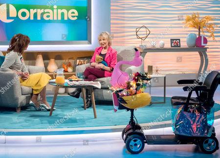 Lorraine Kelly, Sheila Reid