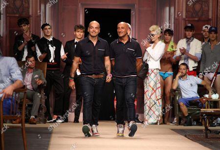 Designers Maurizio Modica and Pierfrancesco Gigliotti