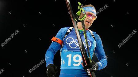 Editorial picture of Olympics Biathlon, Pyeongchang, South Korea - 20 Feb 2018