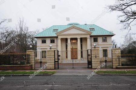 Editorial image of At A50 Million It Is London's Most Expensive Modern Home ? A Gaudy Palace With More Rooms Than Taste Where A Glass Lift Leads To The Master Bedroom Suite. Now Toprak Mansion Has Been Bought By Billionairess Horelma Peramam From Kazakhstan. She Plans