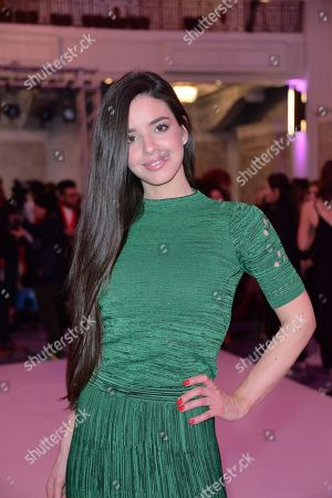 Editorial picture of Stories from Arabia show, Arrivals, London Fashion Week, UK - 19 Feb 2018