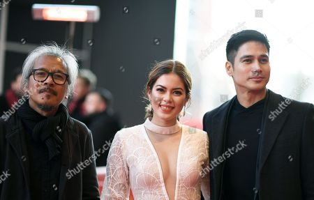 Piolo Pascual, Shaina Magdayao and Lav Diaz