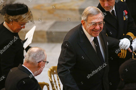 King Constantine with Queen Anne Marie