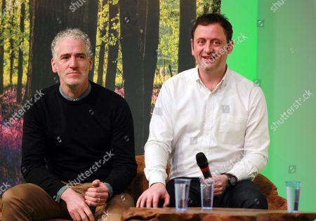 Gordon Buchanan and Matt Allwright