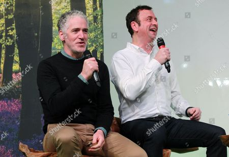 Stock Picture of Gordon Buchanan and Matt Allwright