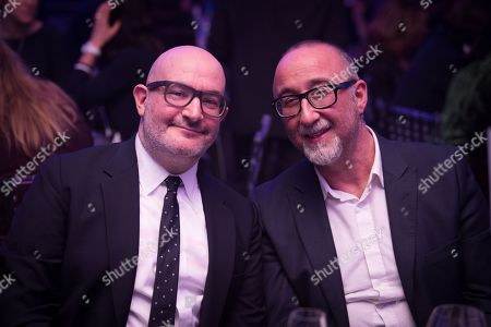 Boyd Hilton and Ivor Baddiel.