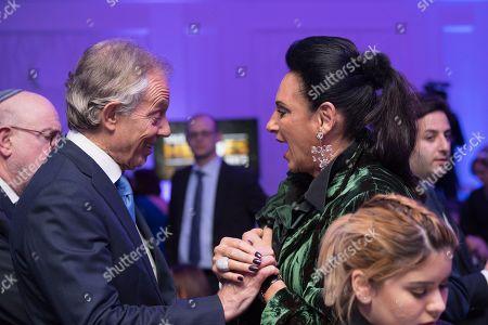 Tony Blair and Gail Ronson.
