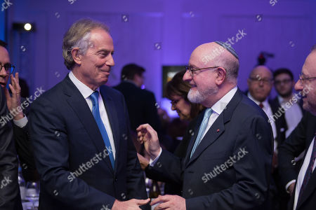 Tony Blair and Henry Grunwald QC.