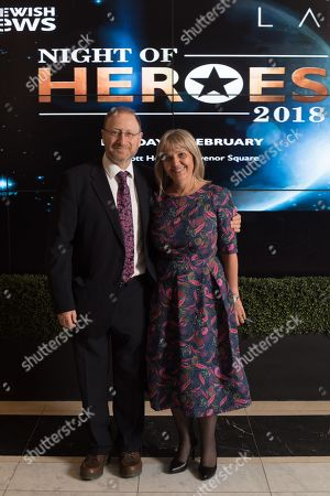 Editorial image of Jewish News Night of Heroes, London, UK - 19 Feb 2018