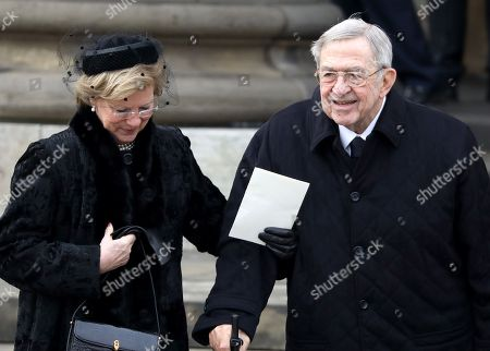 Stock Photo of King Constantine and Queen Anne-Marie